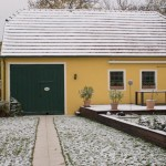 Erster Schnee im Burgenland 2012