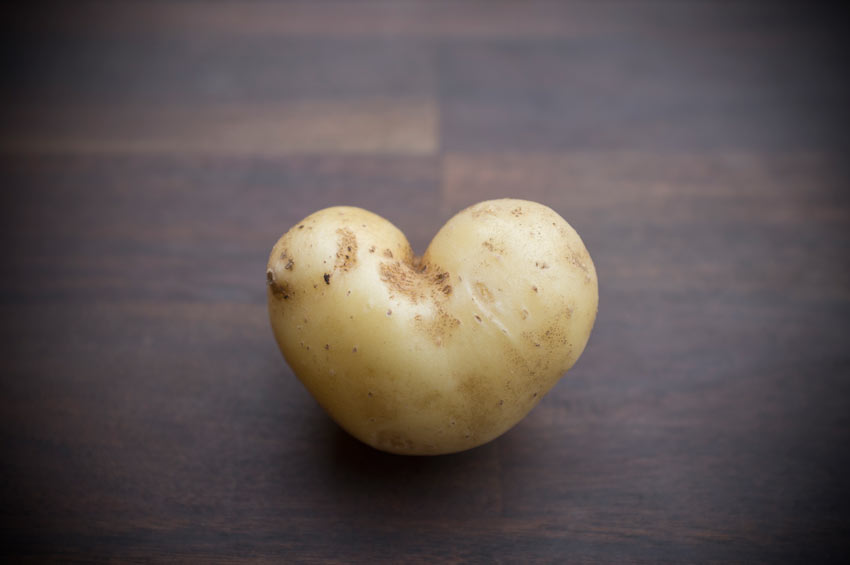 Burgenländische Herzkrumpirn