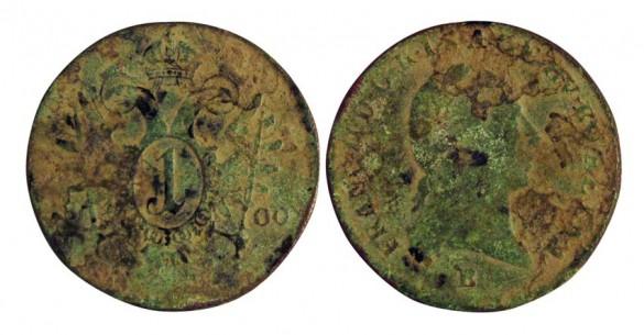 Münzfund aus dem Garten