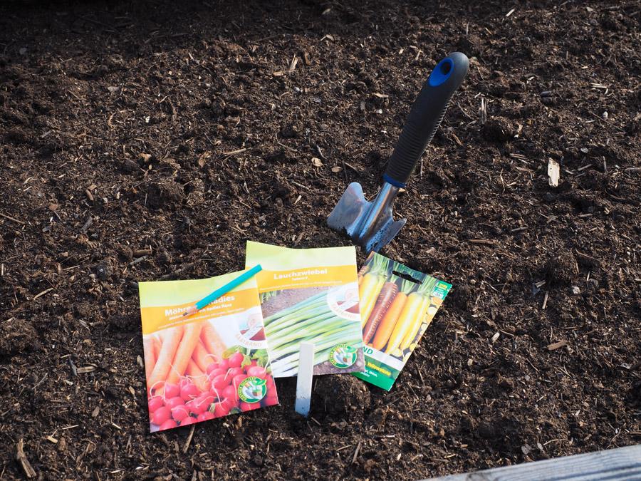 Saatbänder für Karotten, Lauchzwiebel, Rettich und mehr
